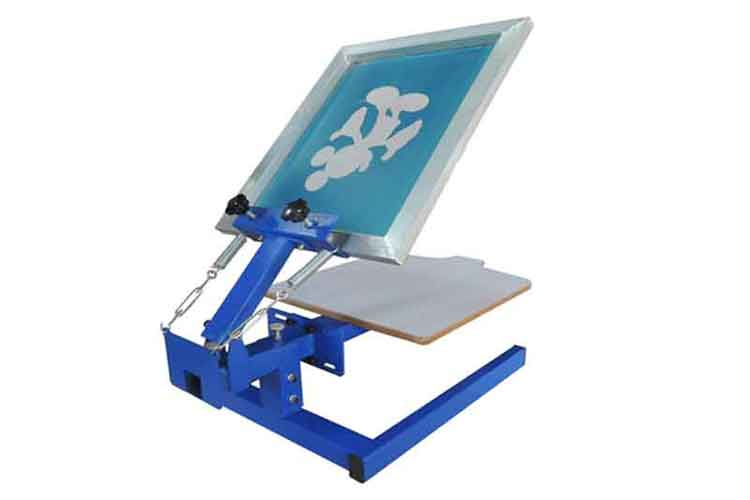 M&K101-M 1 color 1 station screen printer