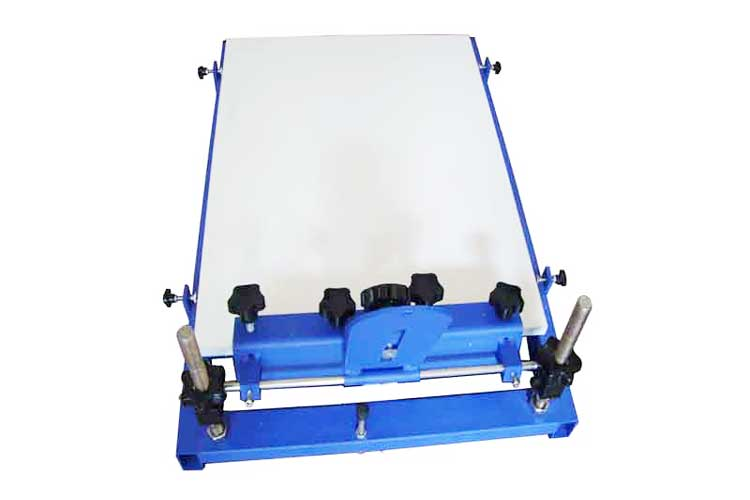 M&K102  1 color 1 station screen printer