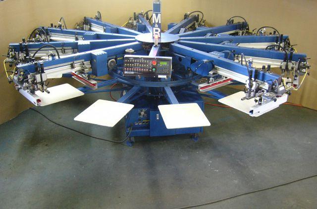 screen printing equipment type