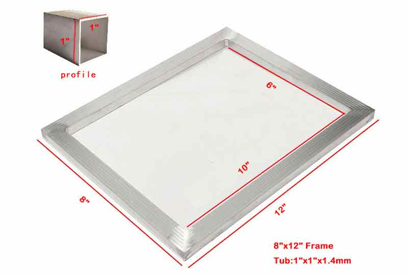 aluminum silk screen printing frames features introduced