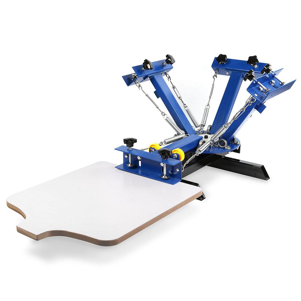 1 Color T Shirt Screen Printing Machine Overprinting Press