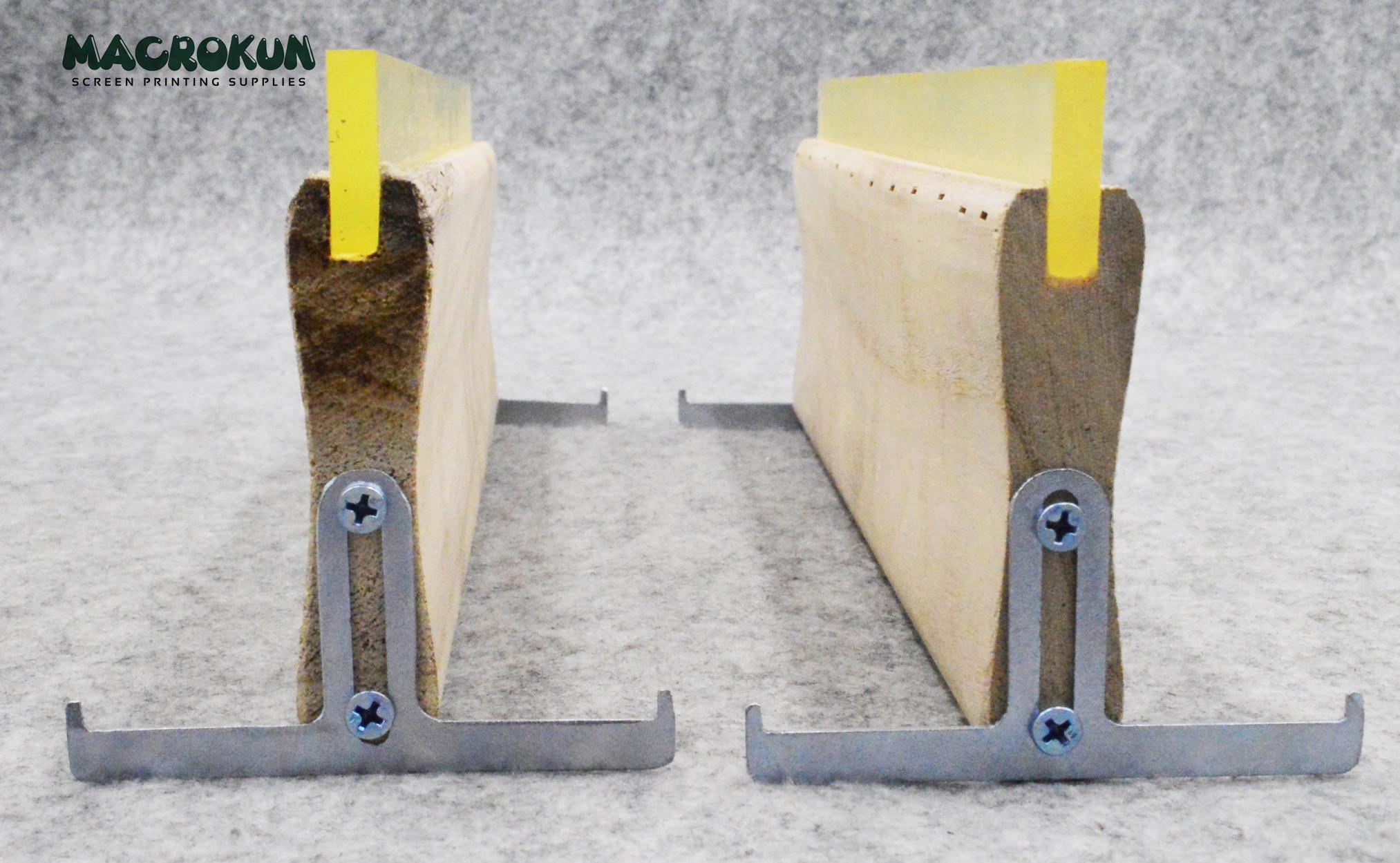 Simple Wooden Handle Squeegee Rack