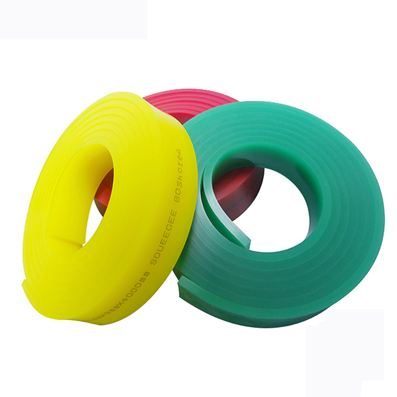 70 Durometer Screen Printing Rubber Squeegee 12/' Roll