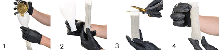 Rosin Filter Bag Use