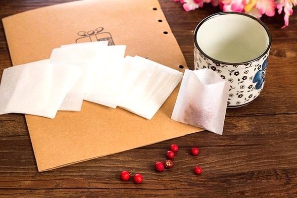 Heat sealing tea bags