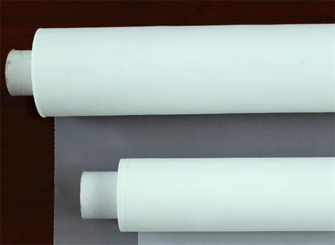 White Nylon Mesh Filter Fabric  20 50 100 200 300 Micron Size Customized