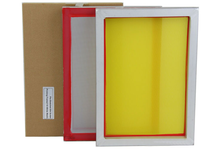 Screen Printing Frame With Mesh