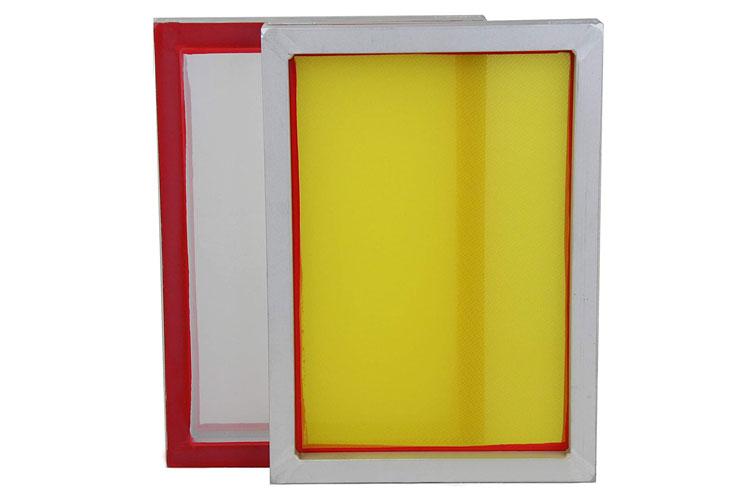 "Aluminum Screen with 110 White Mesh 20"" x 24"""